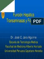 Funcion Hepatica Transaminasas
