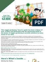 Gardening Workbook