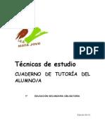 Técnicas de estudio 1º ESO Cuaderno del aalumno