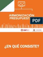 Armonización Presupuestal