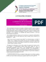 Conferencia La Diferencia de Los Sexos en 2016 LOMBARDI