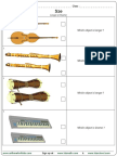 Size Log Worksheet
