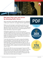 Get more from your new server purchase by opting for faster drives