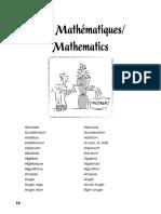 English Vocabulary for Mathematics