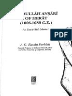 A.G. Ravan Farhadi_ʿAbdullāh Anṣārī of Herat