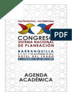 Vigésimo Congreso del Sistema Nacional de Planeación tendrá lugar en Barranquilla