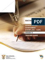 SBA Mathematics Teacher Guide English