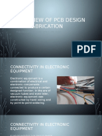 Overview of Pcb Design and Fabrication