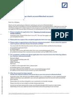 Pk-kredit Finanzierung-db International Opening a Bank Account for Foreign Students