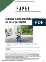 La Nueva Familia Española_ Padres Sin Pasar Por El Altar _ Papel _ EL MUNDO
