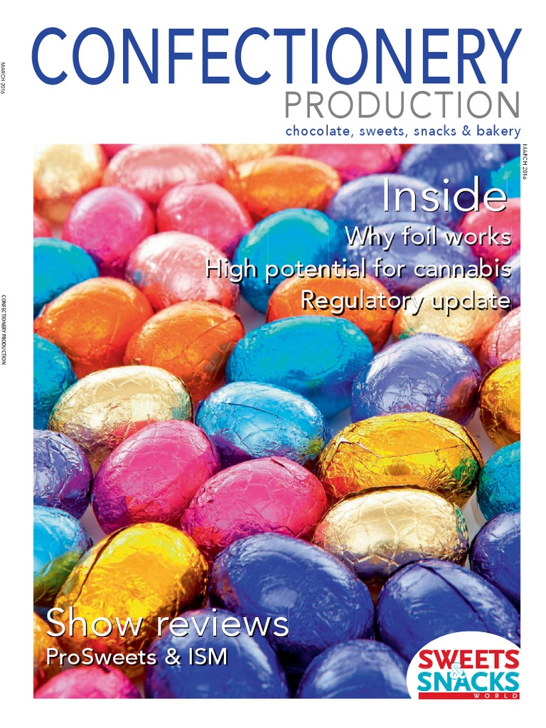 7220c1ac52 Confectionery Production March 2016 | Trans Pacific Partnership | Chocolate