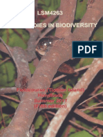 Field Studies in Biodiversity Handbook