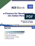Mor Icici India EFfD