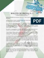 Boletin de Prensa n.- 2 Copa Ciudad de Guayaquil 2010