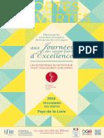 ProgrammeJournéeSavoirFaireExcellence2016