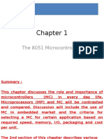 Microcontrollers Chapter 1