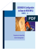 ODD000216 NE40 Basic MPLS Configuration (Fr)