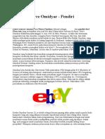 Biografi Pierre Omidyar