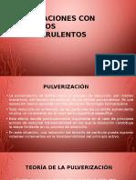 Operaciones Con Sólidos Pulverulentos
