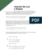 Representación de Los Números Reales