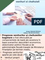 Prognoze de Venituri Si Cheltuieli Bugetare