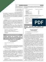 Decreto Supremo Que Declara en Reorganizacion El Seguro Inte Decreto Supremo n 039 2016 Sa 1439098 1