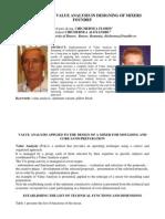 Aplicatiile Analizei Valorii-2-Optimizarea Lagarelor Amestecatoarelor-Autori