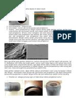 Alat pengeboran patah ketika dipakai di dalam tanah