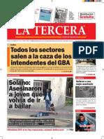 Diario La Tercera 11.10.2016