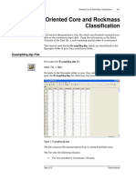 Tutorial 04 Oriented Core and Rock Mass Classification