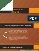Plan de Desarrollo Urbano - Pdu
