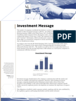 Investment Message - IRGR Monthly Newsletter,  May 2010.