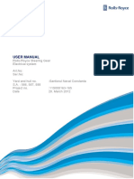 User Manual, Electrical - 11s000163-165 With Drawings