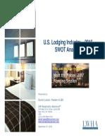 Daniel Lesser, U.S. Lodging Industry Analysis, September 2016