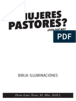 ¿Mujeres Pastores?