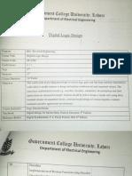 Course Outline DLD