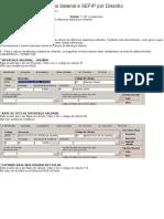 COMO FAZER - Diferença Salarial e SEFIP Por Dissídio - Linha RM - TDN