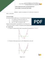Teoremas de Rolle y Valor Medio