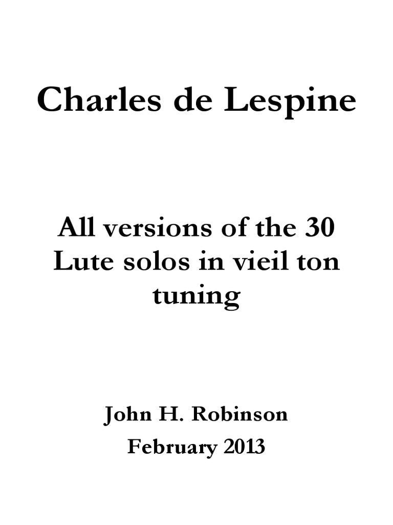 Jane Pickeringes Lute Book