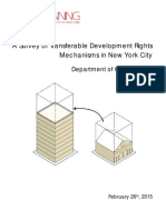 A Survey of Transferable Development Rights Mechanisms in New York City Research