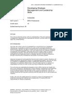 Developing Strategic Management and Leadership Skills 53cf301466945