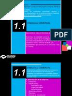 1.1 Viabilidad Comercial Formacion Empresarial