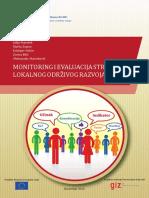 Monitoring i Evaluacija Strategija Lokalnog Odrzivog Razvoja