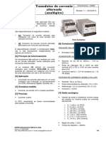 K0062 - Transdutor Analógico de Corrente Alternada AA-AR (Rev. 1.1 DS)