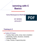 C Programming  Basics 1