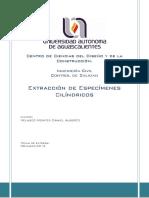 R3-Extracción de Especimenes Cilindricos