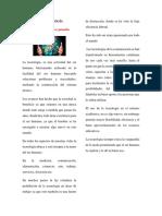 La Tecnología Articulo de Opinion PDF