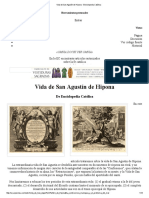 Vida de San Agustín de Hipona - Enciclopedia Católica