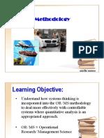Or MS Methodology