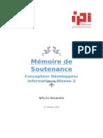 Dossier IPI